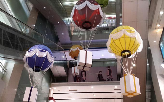 中商气球装饰