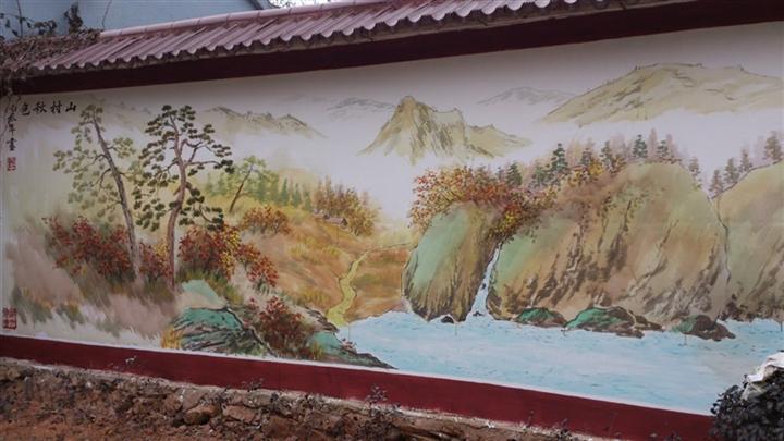 墙绘、手绘、彩绘能够持久?