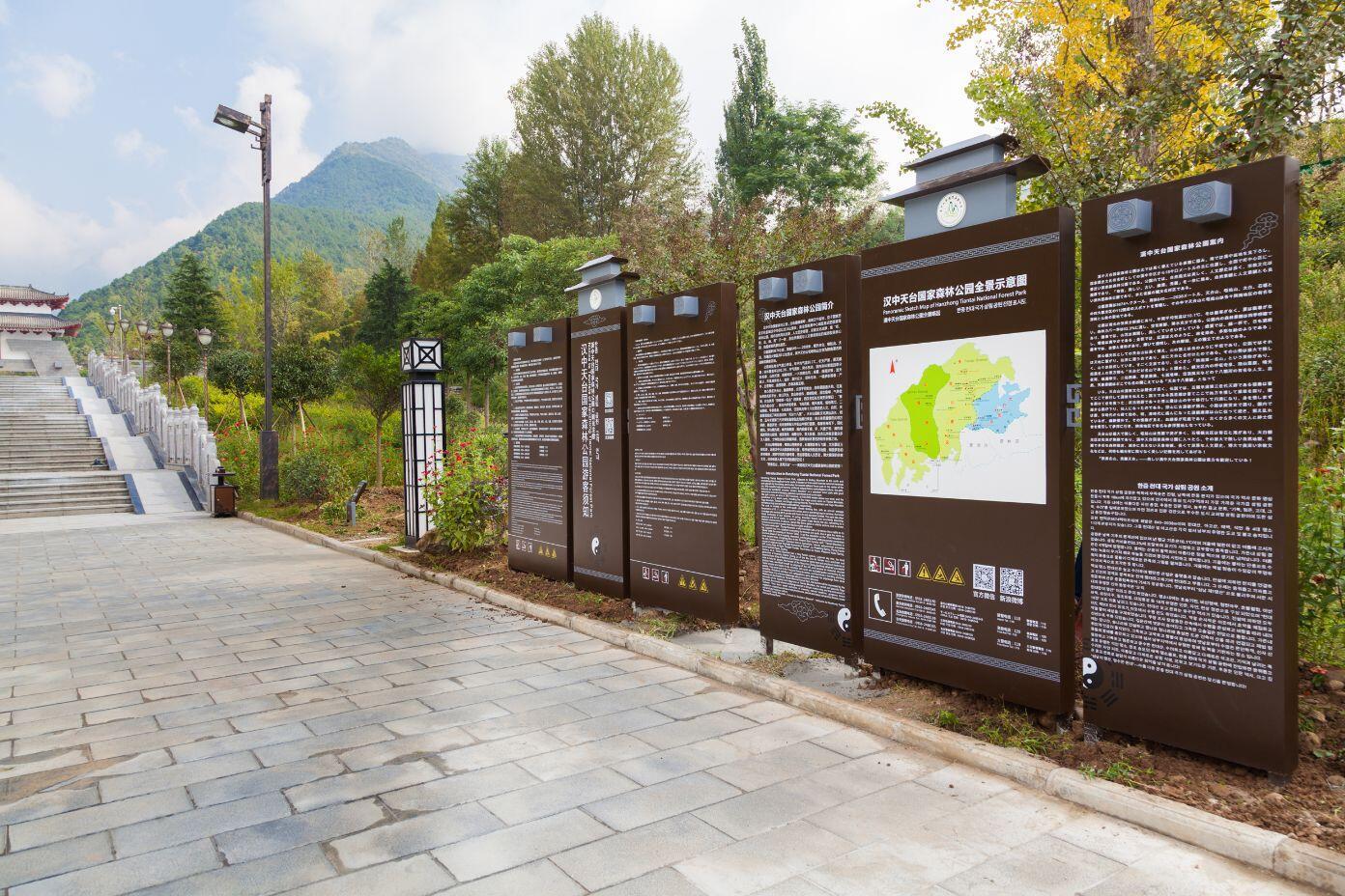 公园景区导视牌定制