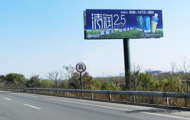 高速擎天柱广告牌的特点和优势