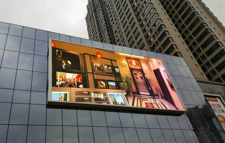 100平方米商场LED广告屏