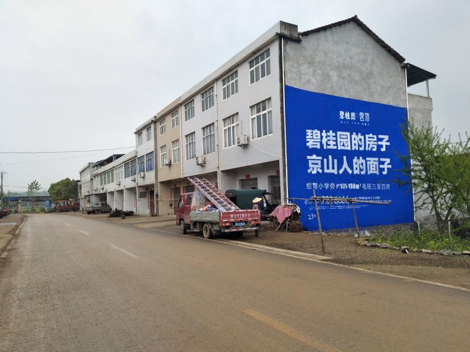 碧桂园云顶墙体广告